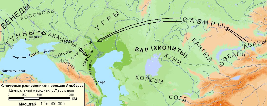 Карта 2 восточная европа и средняя